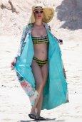 Katy Perry bikini candids at the beach in Cabo San Lucas