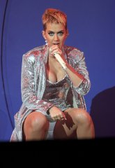 Katy Perry show of her legs and breasts as she pšerforms live at Radio 1 Big Weekend in Hull, UK
