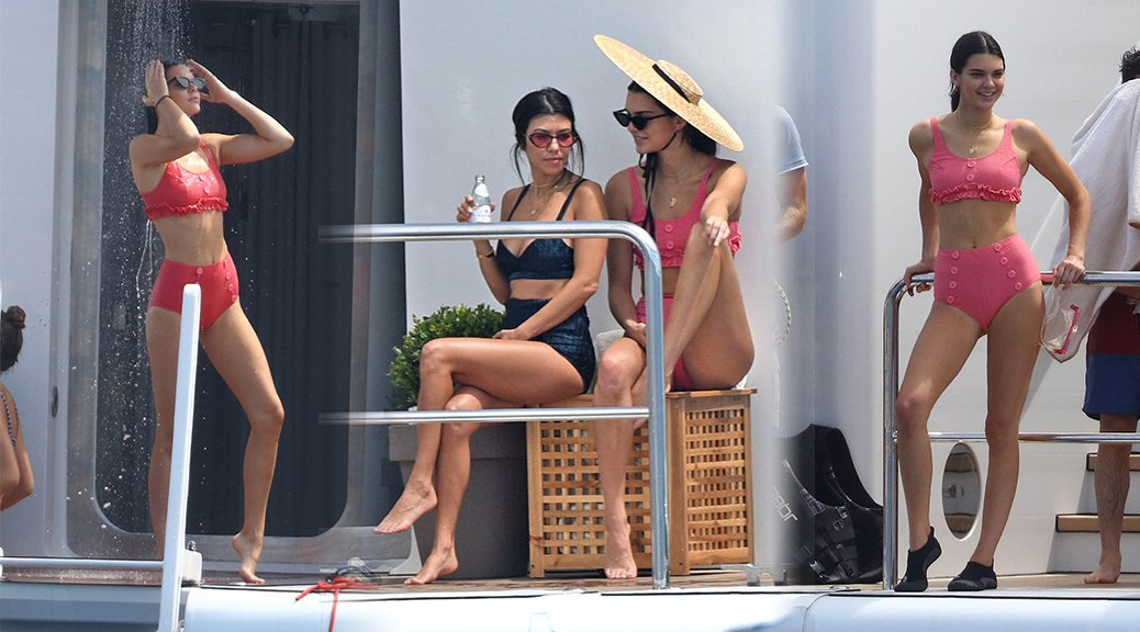 Kendall Jenner - Bikini Candids in Cannes