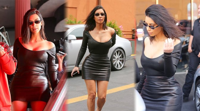 Kim Kardashian – Candids in Studio City