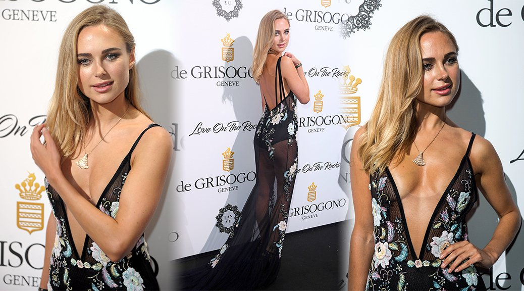 Kimberley Garner - De Grisogono Party in Cannes