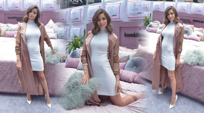 Olivia Culpo – Bareminerals + Cosmopolitan Event in New York
