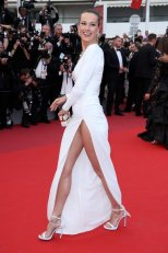 Petra Nemcova exposing her panties at Loveless Premiere at 2017 Cannes Film Festival