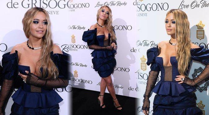 Rita Ora – De Grisogono Party in Cannes