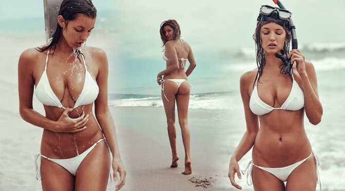 Alyssa Arce – Bikini Photoshoot by Kent Avery