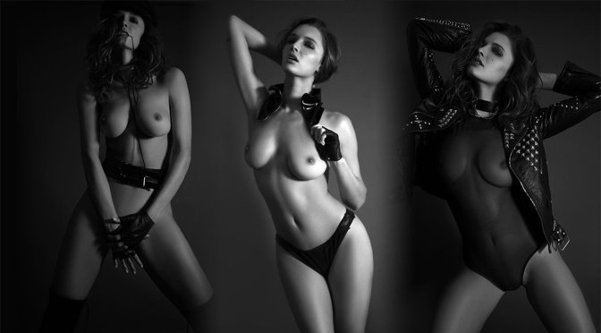 Alyssa Arce – Topless Photoshoot by Yann Dandois (NSFW)