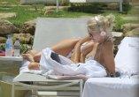 Ashley James Bikini Breasts