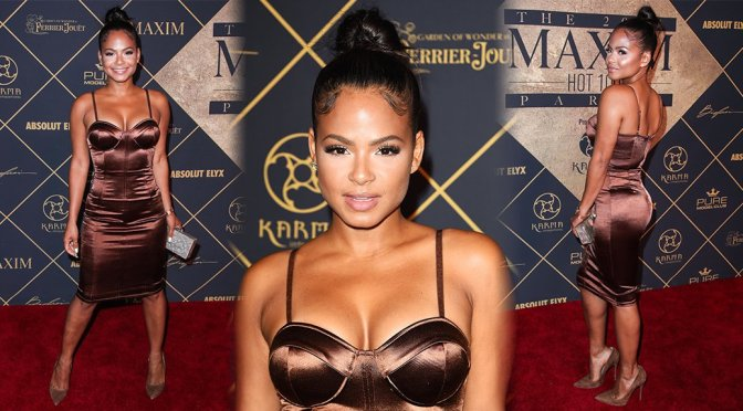 Christina Milian – Maxim Hot 100 Event in Hollywood
