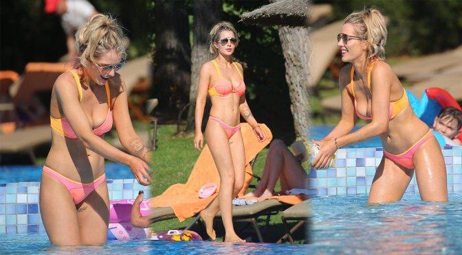 Helen Flanagan – Bikini Candids in Majorca