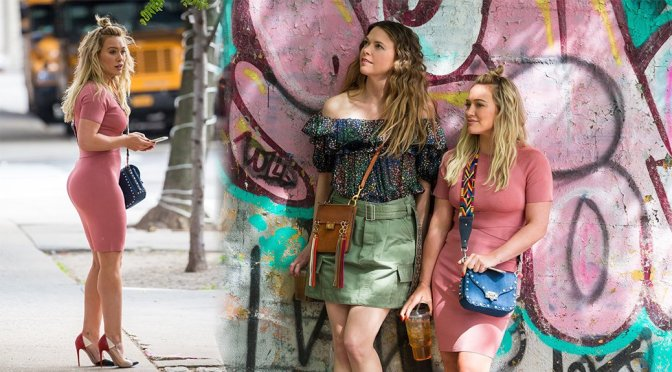 "Hilary Duff on ""Younger"" Set in New York"