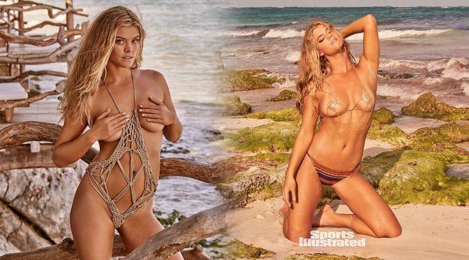 Nina Agdal – Sports Illustrated Swimsuit 2017 Photoshoot Outtakes