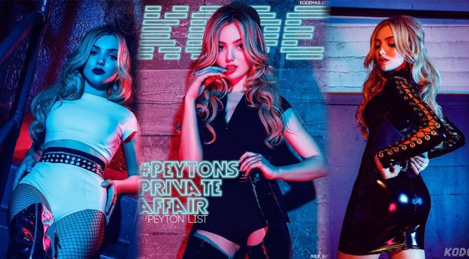 Peyton Roi List – Kode Magazine Photoshoot (July 2017)