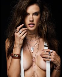 Alessandra Ambrosio Naked Sexy