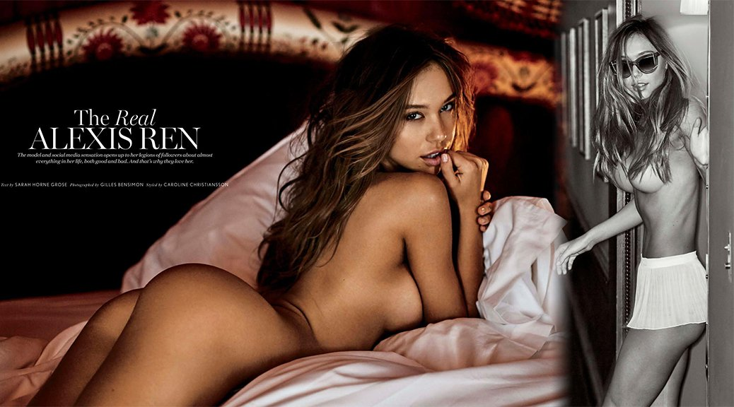 Alexis Ren - Maxim Magazine Naked Photoshoot (July 2017)