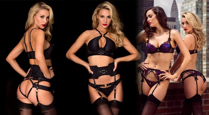 Bryana Holly – Honey Birdette Lingerie Photoshoot