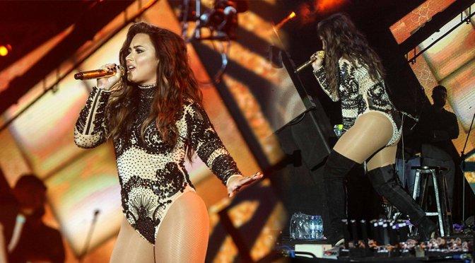 Demi Lovato Perfomrs Live at Villa Mix Festival in Goiania