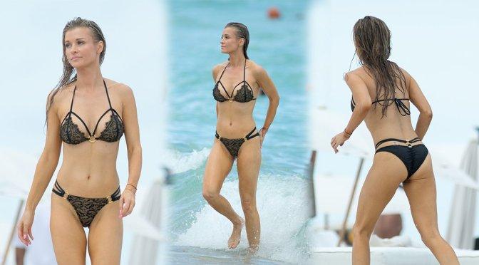 Joanna Krupa – Bikini Candids in Miami
