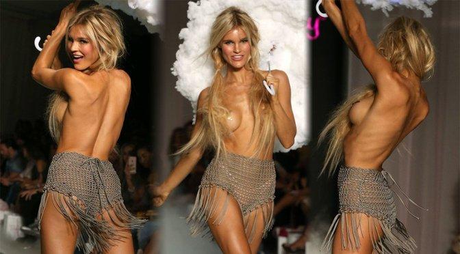 """Joy Corrigan – """"Beach Bunny"""" Runway Show in Miami"""