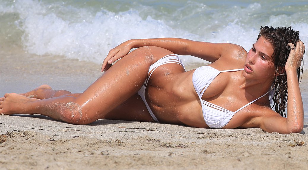 Kara Del Toro - Bikini Photoshoot Candids in Miami