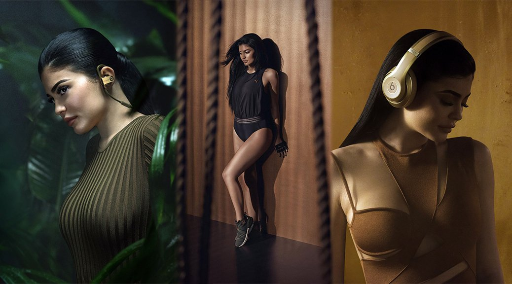 Kylie Jenner - Headphones by Beats by Dr. Dre and Balmain  New Collection