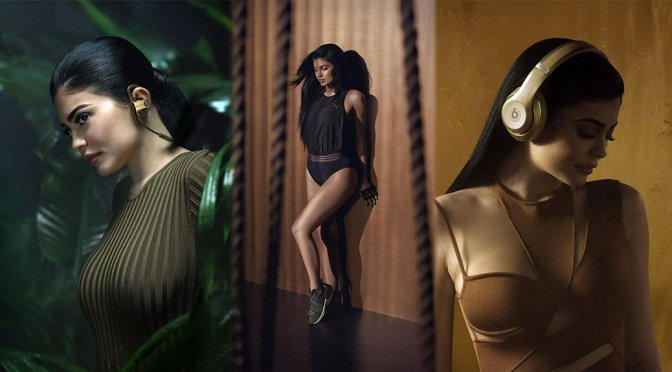 Kylie Jenner – Headphones by Beats by Dr. Dre and Balmain  New Collection