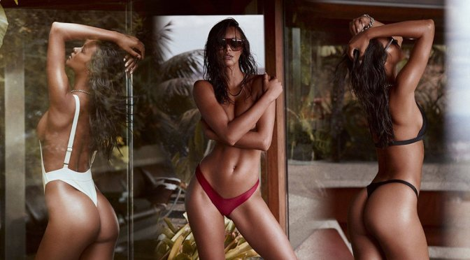 Lais Ribeiro – Fae Swim Spring/Summer 2017 Collection