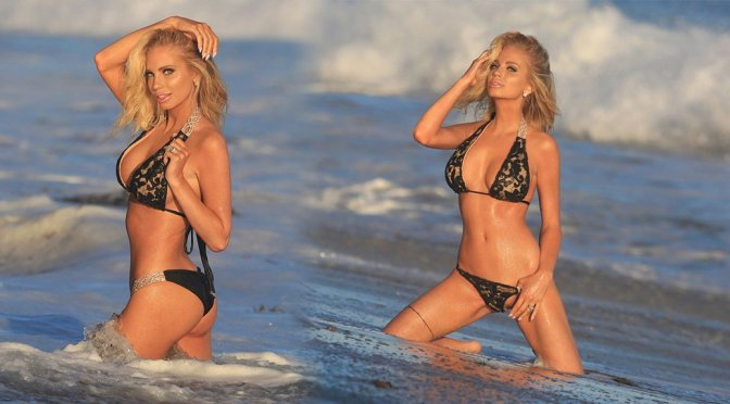 "Mary Kaitlin – ""138 Water"" Bikini Photoshoot in Malibu"