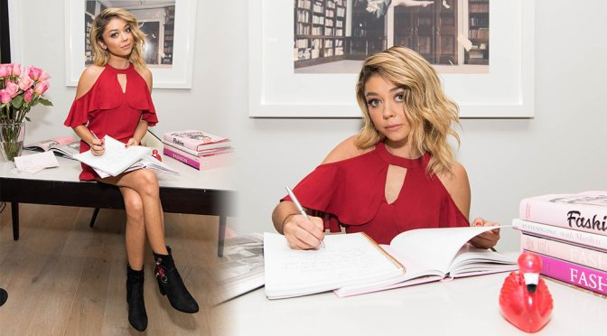 Sarah Hyland – Candie's Back-to-School Promo