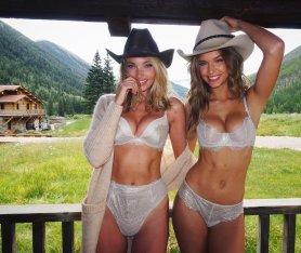 Elsa Hosk Cowgirl