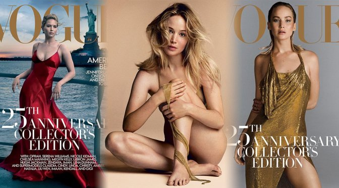 Jennifer Lawrence – Vogue Magazine Photoshoot (September 2017)