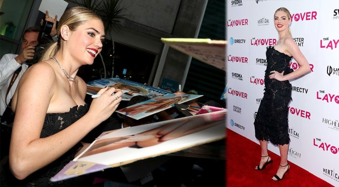 "Kate Upton – ""The Layover"" Premiere in Los Angeles"