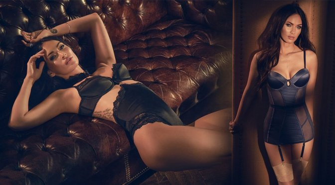 Megan Fox – Fredericks's of Hollywood Lingerie Photoshoot