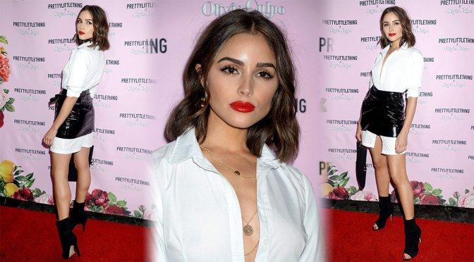 Olivia Culpo – Pretty Little Things Launch Event in Hollywood