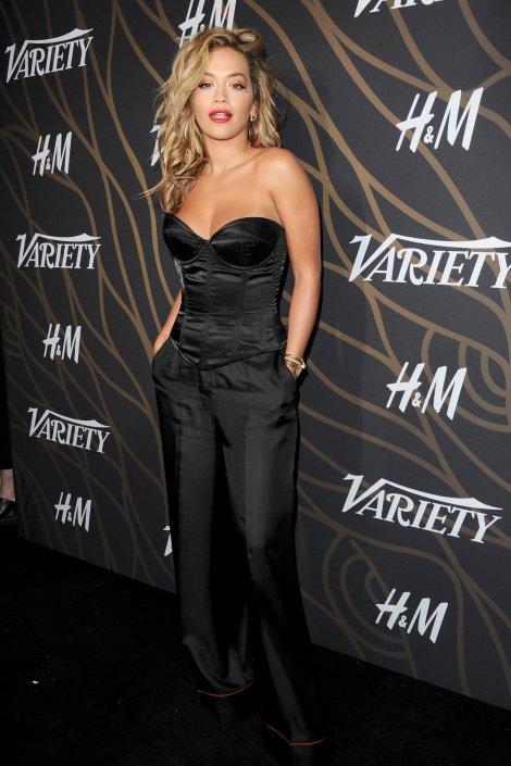 Rita Ora Sexy Cleavage