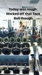Sarah Hyland Gym