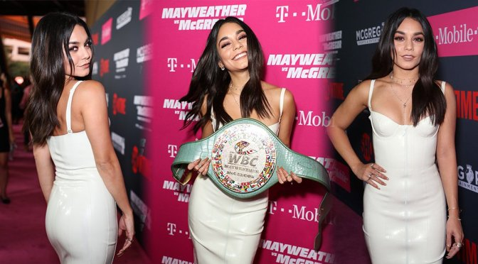 Vanessa Hudgens – Pre-Fight Party in Las Vegas