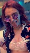 Bella Thorne Pierced Nipple