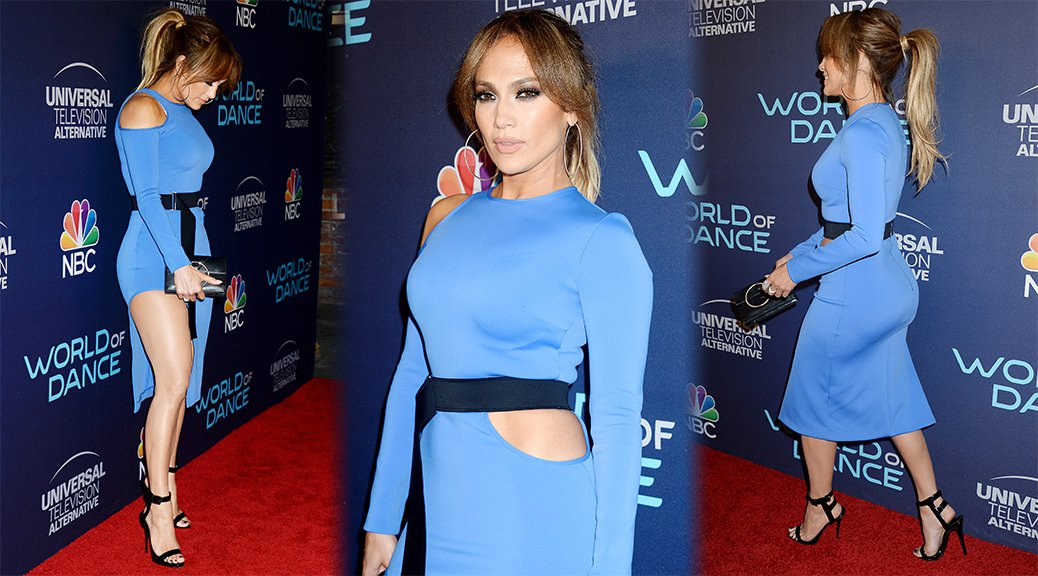 Jennifer Lopez - World of Dance Celebration in West Hollywood