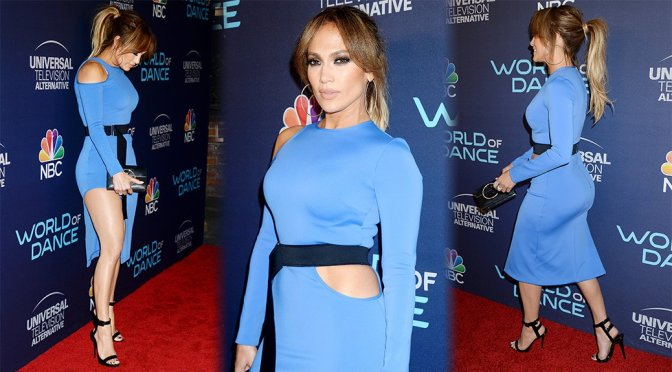 Jennifer Lopez – World of Dance Celebration in West Hollywood