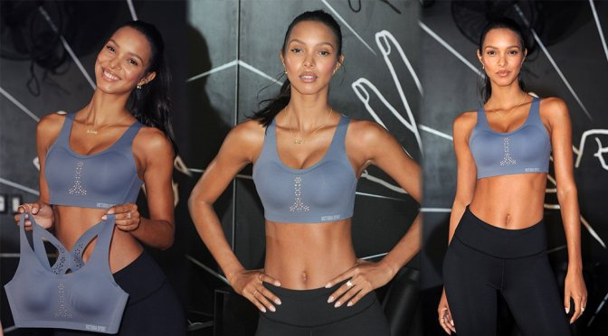 Lais Ribeiro – Train Like A Victoria's Secret Angel Event