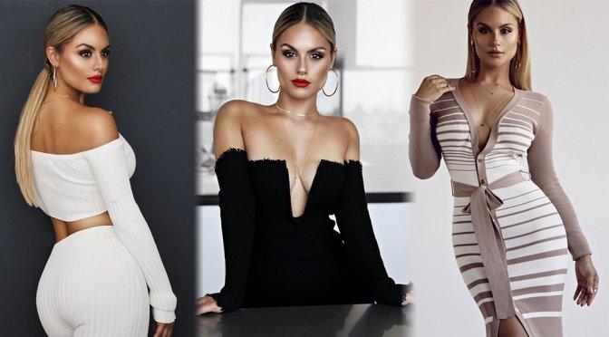 """Pia Toscano – JLUXLABEL """"Fallin' For Pia"""" Fashion Line 2017"""