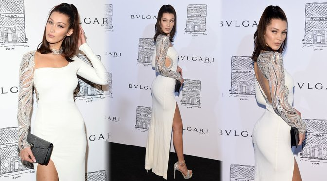 Bella Hadid – Bulgari Flagship Store Opening in New York