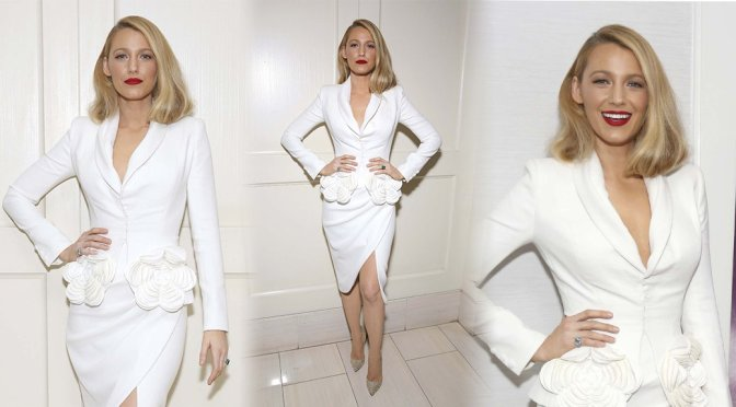 """Blake Lively – """"All I See Is You"""" Screening in West Hollywood"""