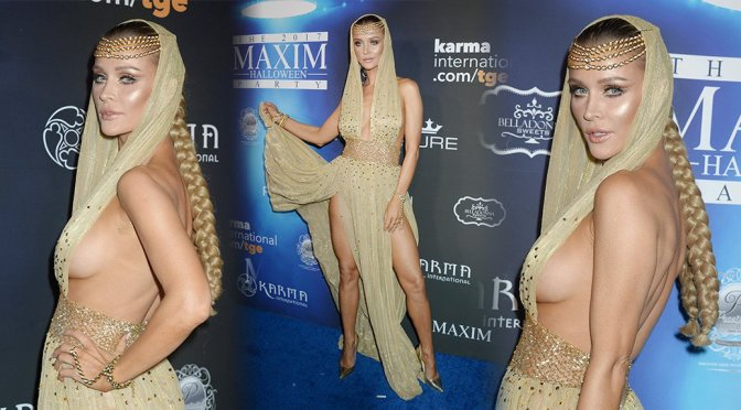 Joanna Krupa – 2017 Maxim Halloween Party in Los Angeles