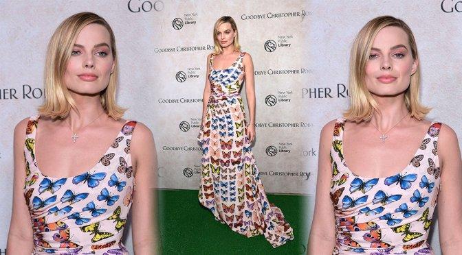 "Margot Robbie – ""Goodbye Christopher Robin"" Premiere in New York"