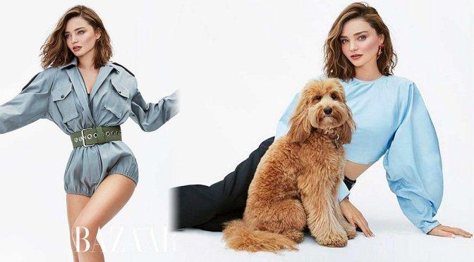 Miranda Kerr – Harper's Bazaar Australia Magazine (November 2017)