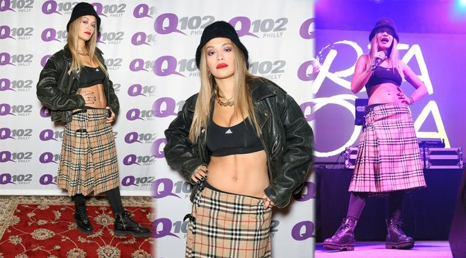 Rita Ora Performs Live at Harrah's in Chester