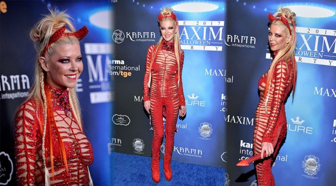 Tara Reid – Maxim Halloween Party in Los Angeles
