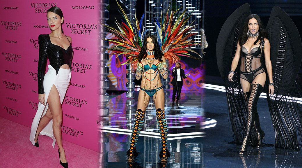 Adriana Lima - 2017 Victoria's Secret Fashion Show in Shanghai