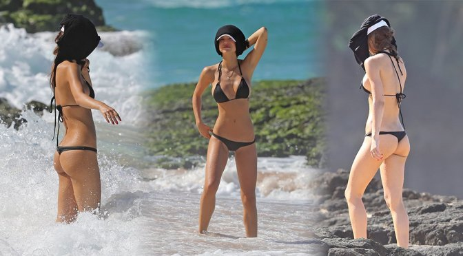 Alexis Ren – Bikini Candids in Hawaii